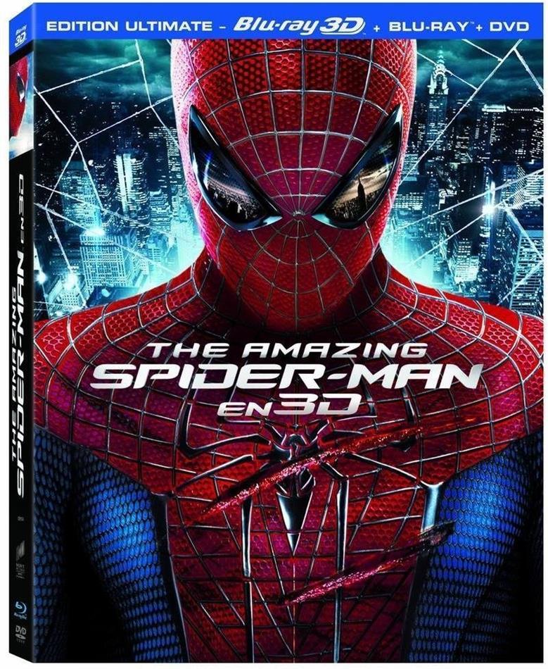The Amazing Spider-Man (2012) (Blu-ray 3D + Blu-ray + DVD)