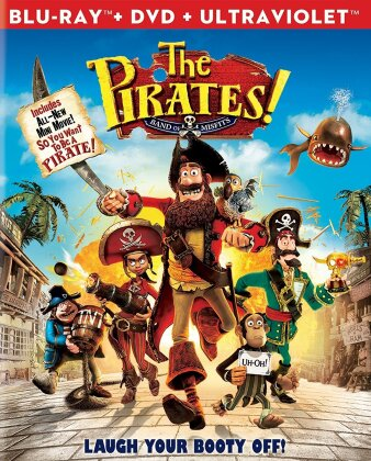 The Pirates! - Band of Misfits (2012) (Blu-ray + DVD)
