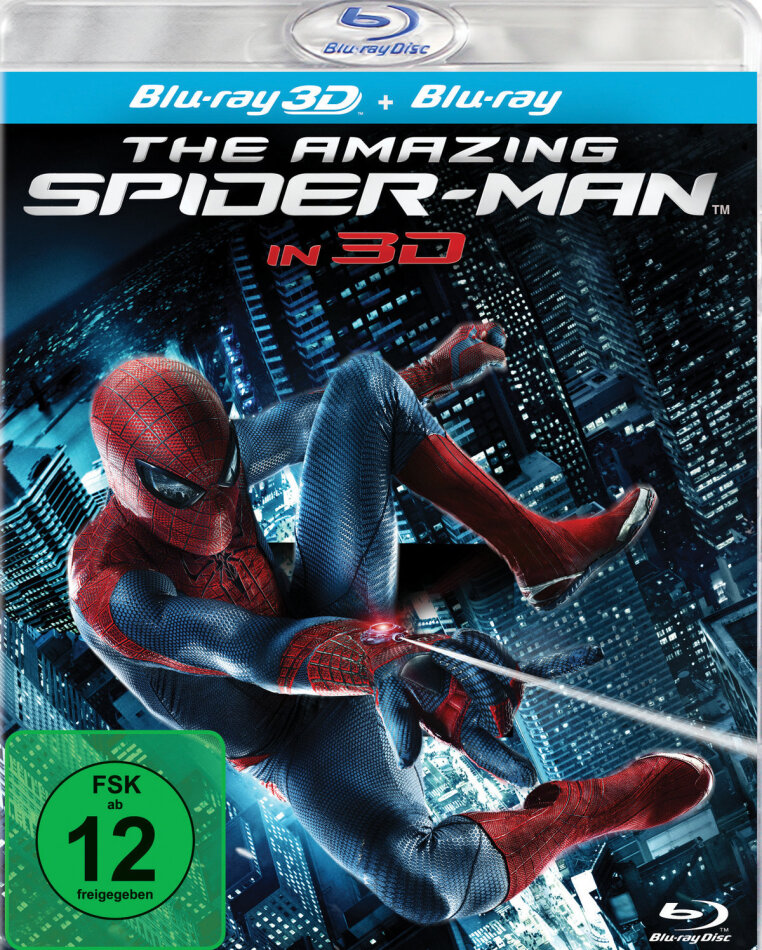 The Amazing Spider-Man (2012) (Blu-ray 3D + Blu-ray)