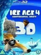 Ice Age 4 - Continental Drift (2012) (Blu-ray 3D (+2D) + DVD)