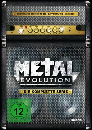 Various Artists - Metal Evolution - Die komplette Serie (Steelbook, 3 DVD)