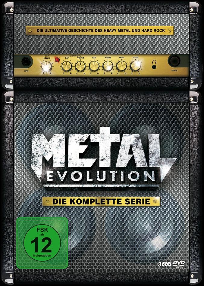 Various Artists - Metal Evolution - Die komplette Serie (Steelbook, 3 DVDs)