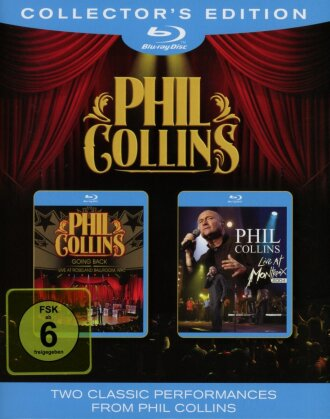 Collins Phil - Going Back & Live at Montreux 2004 (Collector's Edition, 2 Blu-ray)