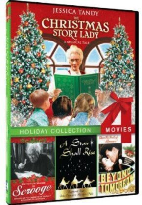 The Christmas Story Lady / Beyond Tomorrow / Scrooge / A Star Shall Rise - Holiday Collection 4 Movies
