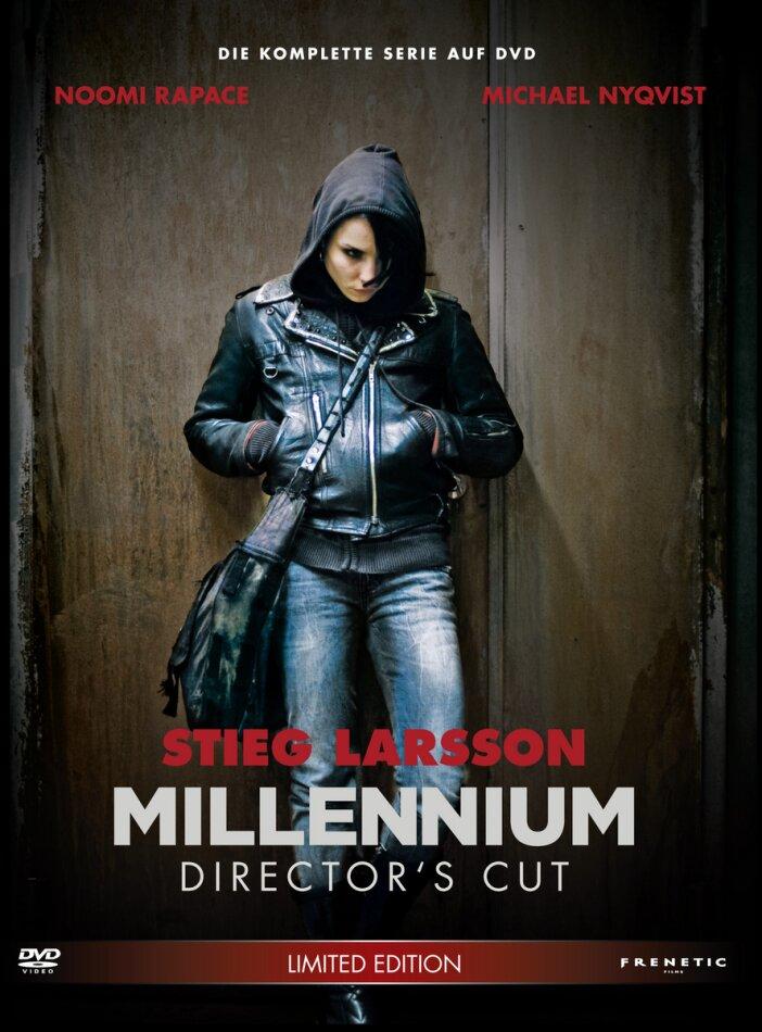 Millennium Trilogie (Director's Cut, Edizione Limitata, 4 DVD)
