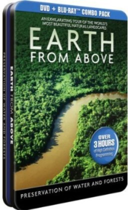 Earth from Above - Preservation of Water and Forests (Blu-ray + 2 DVDs)