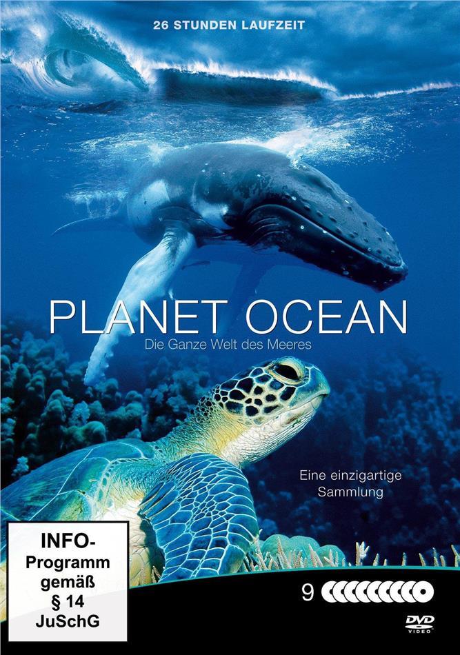 Planet Ocean - Die ganze Welt des Meeres (Steelbook, 9 DVDs)