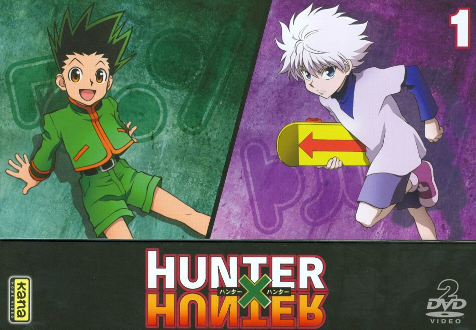 Hunter X Hunter - Coffret Vol. 1 (2011) (2 DVDs)