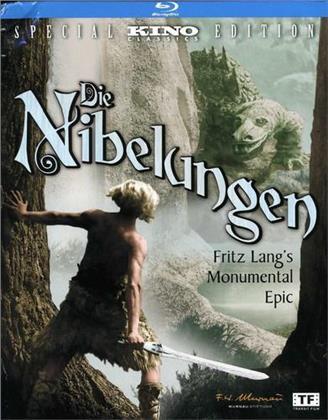 Die Nibelungen (1924) (Deluxe Edition, Versione Rimasterizzata, 2 Blu-ray)