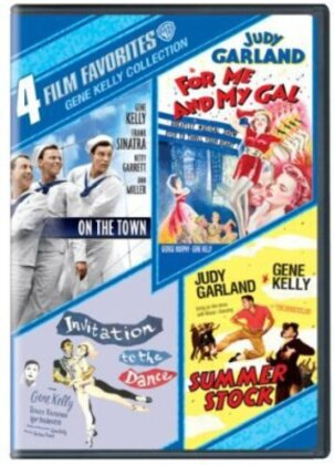 Gene Kelly Collection - 4 Film Favorites (4 DVDs)