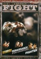 Coffret Fight - Warrior / Renaissance d'un champion / Fighter (3 DVDs)