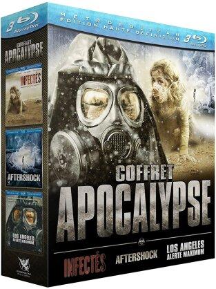 Coffret Apocalypse - Infectés / Aftershock / Los Angeles alerte maximum (3 Blu-rays)