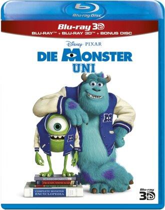 Die Monster Uni (2013) (Blu-ray 3D + 2 Blu-rays)