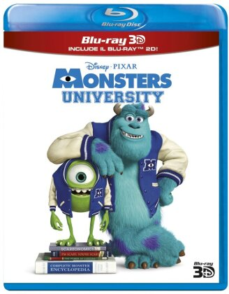 Monsters University (2013) (Blu-ray 3D + Blu-ray)