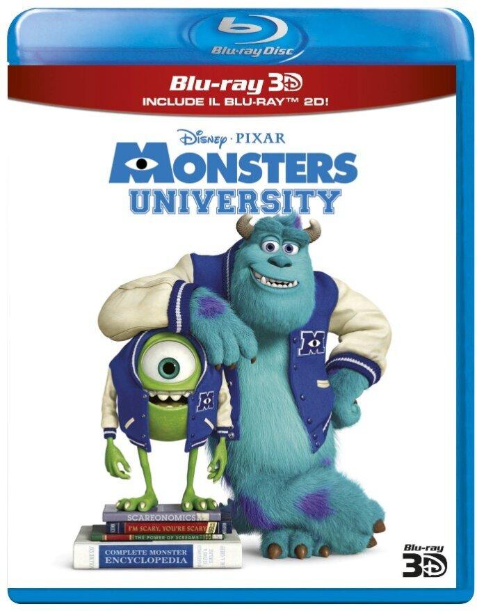 Monsters University (2013) (Blu-ray 3D + Blu-ray)