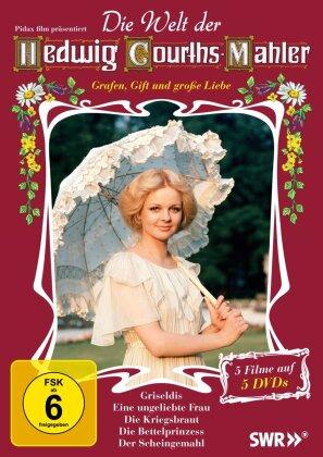 Die Welt der Hedwig Courths-Mahler (5 DVDs)