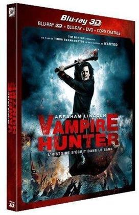 Abraham Lincoln: Vampire Hunter (2012) (Blu-ray 3D + Blu-ray + DVD)