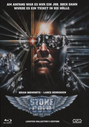 Stone Cold - Kalt wie Stein (1991) (Cover A, Limited Edition, Mediabook, Blu-ray + 2 DVDs)
