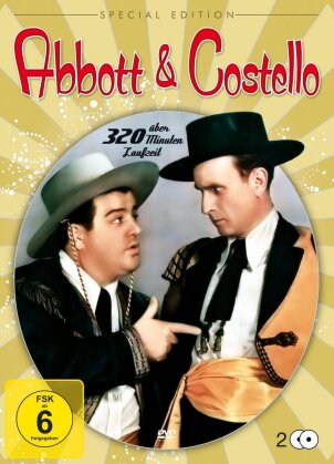 Abbott & Costello (Special Edition, Steelbook, 2 DVDs)