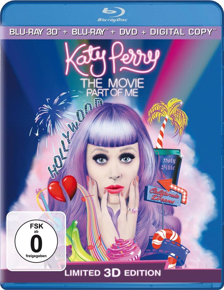 Katy Perry - Part of Me (Blu-ray 3D + Blu-ray + DVD)