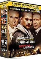 Coffret Action / Thriller - Bad Lieutenant / La peur au ventre / Droit de passage (3 DVDs)