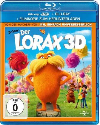 Der Lorax - Dr. Seuss' The Lorax (2012) (Blu-ray 3D + Blu-ray)