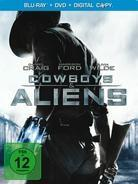 Cowboys & Aliens (2011) (Extended Edition, Steelbook, Blu-ray + DVD)
