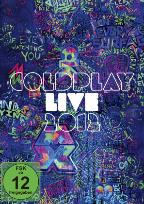 Coldplay - Live 2012 (Edizione Limitata, Blu-ray + CD)