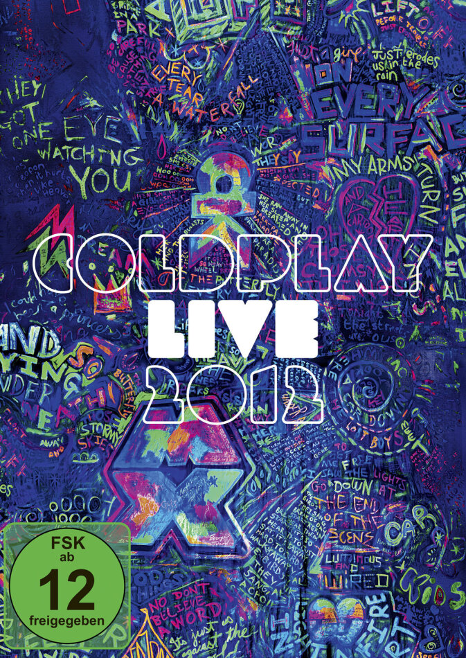Coldplay - Live 2012 (Limited Edition, Blu-ray + CD)