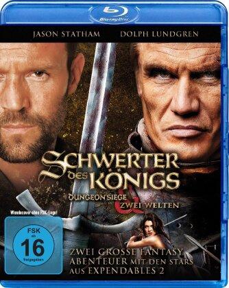 Schwerter des Königs 1 & 2 - Dungeon Siege / Zwei Welten (2 Blu-rays)