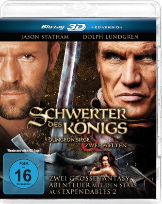 Schwerter des Königs 1 & 2 - Dungeon Siege / Zwei Welten (2 Blu-ray 3D)
