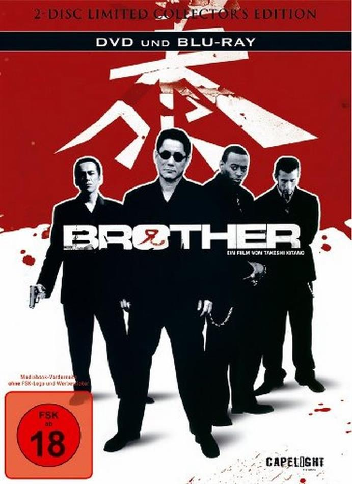 Brother (2000) (Edizione Limitata, Mediabook, Blu-ray + DVD)