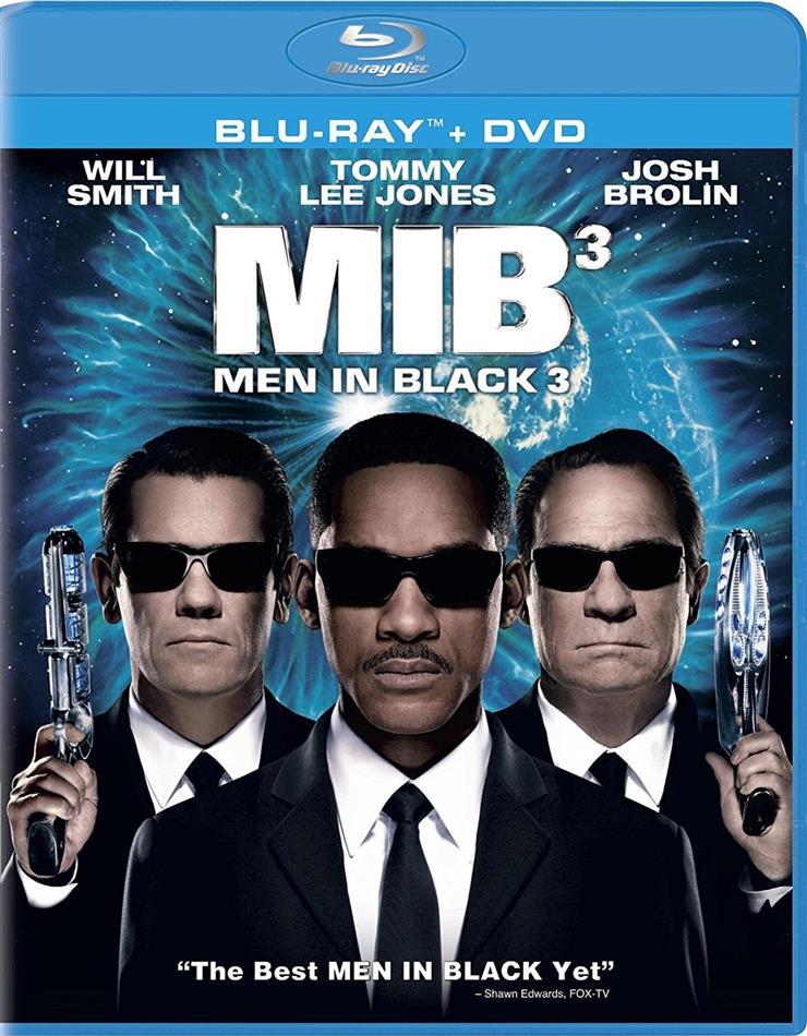 Men in Black 3 (2012) (Blu-ray + DVD)