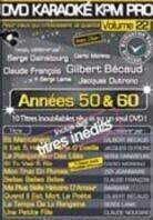 Karaoke - KPM Pro Vol. 22 - Les anées 50 & 60