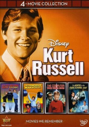Kurt Russell - Disney 4-Movie Collection (4 DVDs)