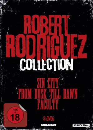 Robert Rodriguez Collection - Sin City / From dusk till dawn / Faculty (3 DVDs)