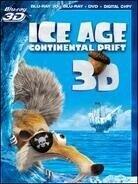 Ice Age 4 - Continental Drift (2012) (Blu-ray 3D (+2D) + Blu-ray + DVD)