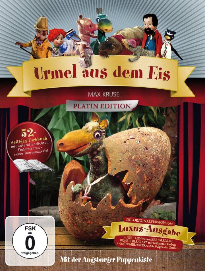 Augsburger Puppenkiste - Urmel aus dem Eis (Limited Edition, Platinum Edition, Blu-ray + 2 DVDs)