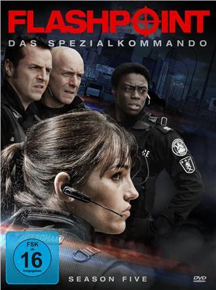 Flashpoint - Das Spezialkommando - Staffel 5 (3 DVDs)