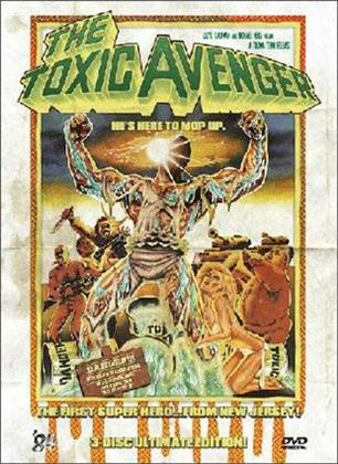 The Toxic Avenger (1984) (Director's Cut, Extended Edition, Edizione Limitata, Mediabook, Ultimate Edition, Uncut, 3 DVD)