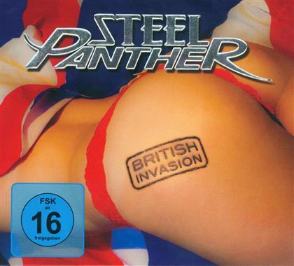 Steel Panther - British Invasion (2 DVDs)