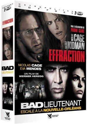 Effraction / Bad lieutenant (2 DVDs)