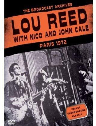 Lou Reed, Nico & John Cale - Paris 1972