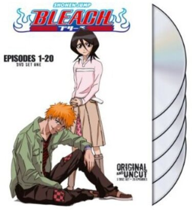Bleach Uncut Box Set - Vol. 1 (Uncut, 5 DVDs)