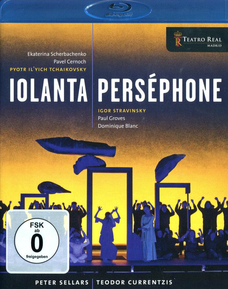 Orchestra of the Teatro Real Madrid, … - Stravinsky - Persephone / Tchaikovsky - Iolanta