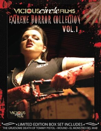 Extreme Horror Collection - Vol. 1 (Limited Edition, 3 DVDs)