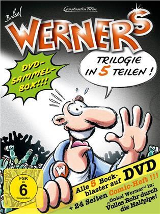 Werner 1 - 5 - Comicbox (5 DVDs)