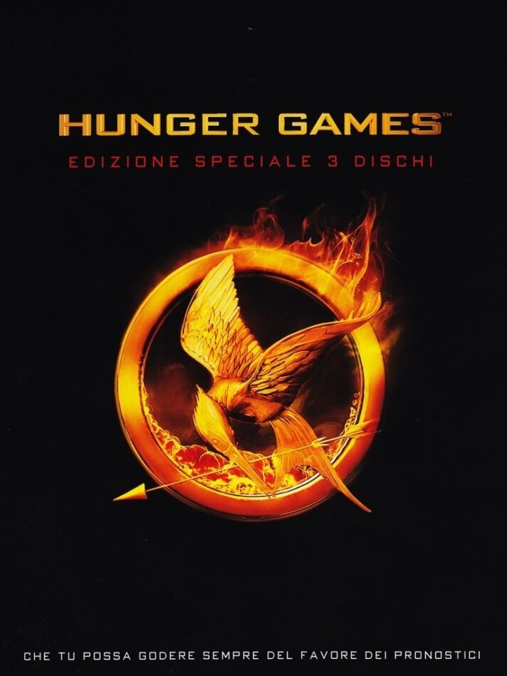 Hunger Games 1 (2012) (Deluxe Edition, 3 DVDs)