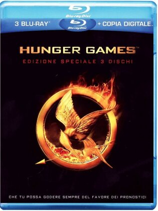 Hunger Games 1 (2012) (Deluxe Edition, 3 Blu-rays)