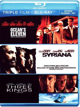 Ocean's Eleven / Syriana / Three Kings (3 Blu-rays)